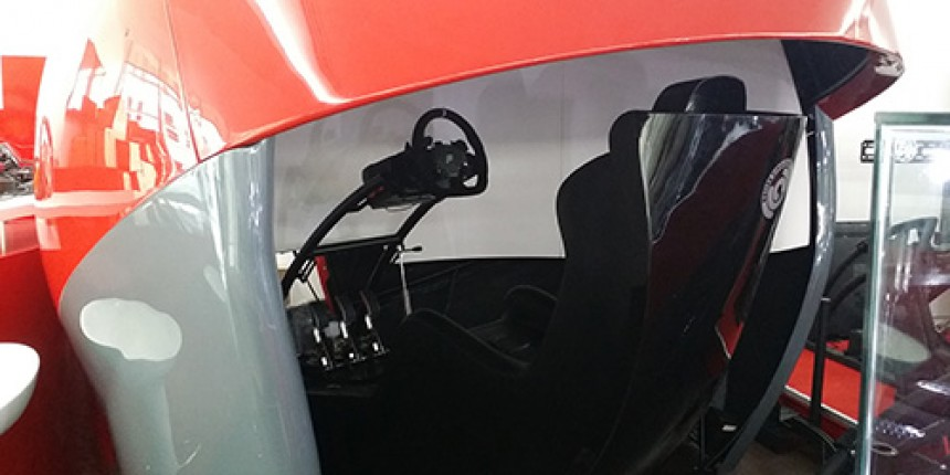 Test out our Brand New Custom Made Racing Pod!